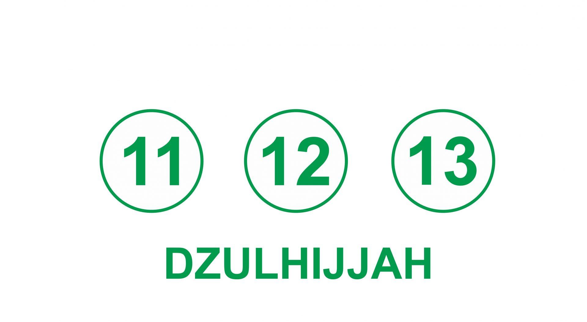 Hari Tasyrik Idul Adha